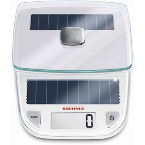 Küchenwaage »Easy Solar«, weiß, Soehnle