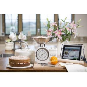 2-tlg. Küchenwaagen- und Mehldosen-Set Living Nostalgia