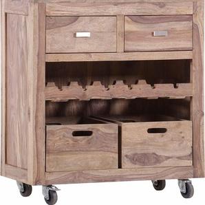 Gutmann Factory Küchenwagen »Inka«, beige, 85x42x94 cm, FSC®-zertifiziert