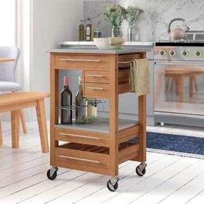 Küchenwagen Merrillville mit Edelstahlplatte