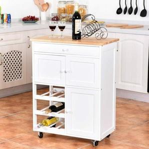 Küchenwagen Servierwagen Küchentrolley Beistellwagen Küchenschrank