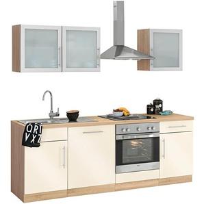 Küchenzeile »Aachen«, weiß, wiho Küchen
