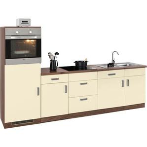 Küchenzeile, weiß, »Tacoma«, wiho Küchen