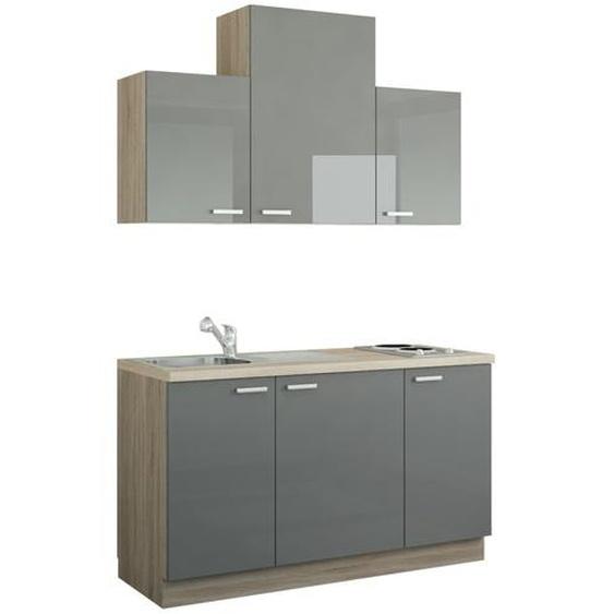 Küchenzeile mit Elektrogeräten  Aue ¦ Maße (cm): B: 150