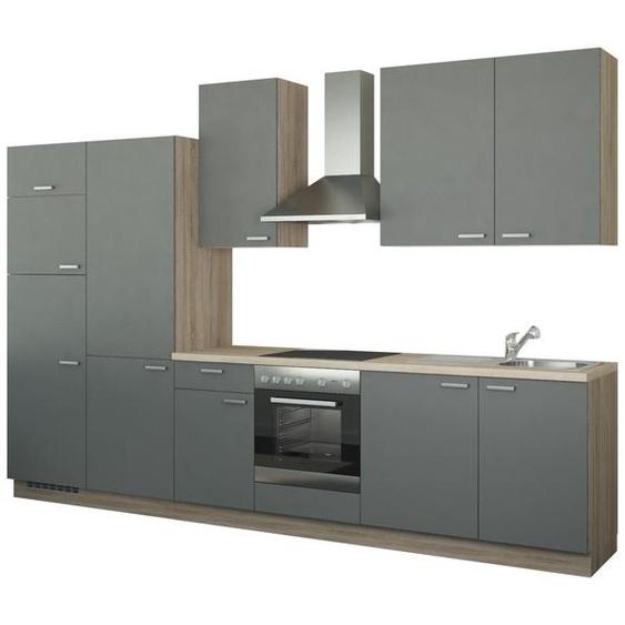 Küchenzeile mit Elektrogeräten  Duisburg ¦ grau
