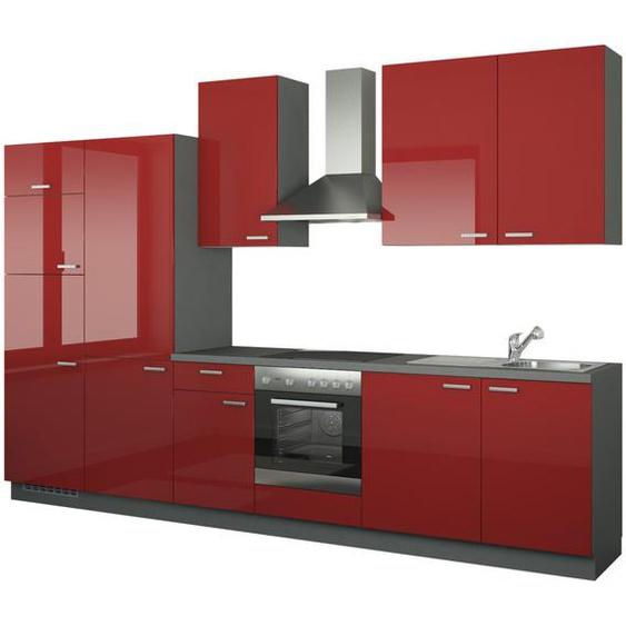 Küchenzeile mit Elektrogeräten  Duisburg ¦ rot