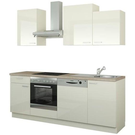 Küchenzeile mit Elektrogeräten  Erfurt ¦ creme