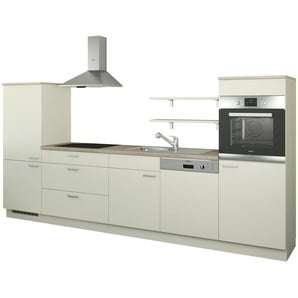 Küchenzeile ohne Elektrogeräte  Kassel ¦ creme ¦ Maße (cm): B: 330