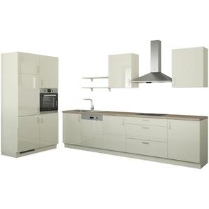 Küchenzeile ohne Elektrogeräte  Usedom ¦ creme