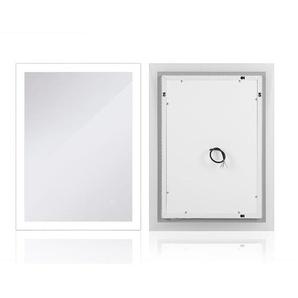 Kühles-Weiß LED Badezimmerspiegel Wandspiegel 90*70cm - OOBEST