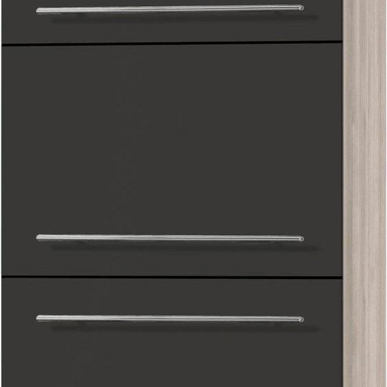 Kühlumbauschrank »Bern«, braun, Material Metall, OPTIFIT