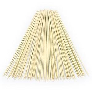 KuKoo Gastro Zuckerwattestäbchen Zuckerwattestäbe Stäbchen Holzstäbchen aus Holz Stückzahl 300