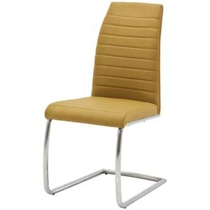 Stuhl  Caneva ¦ gelb ¦ Maße (cm): B: 44 H: 100 T: 63 Stühle  Esszimmerstühle  Esszimmerstühle ohne Armlehnen » Höffner