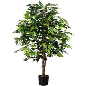 Kunstpflanze »Ficus Benjamini«, Creativ green, Höhe 120 cm