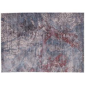Webteppich  Leja ¦ grau ¦ 100% Polyester ¦ Maße (cm): B: 90 Teppiche  Auslegware » Höffner