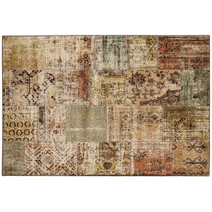 Kurzflorteppich  Matrix | mehrfarbig | Viskose, 100% Viscose | 135 cm |