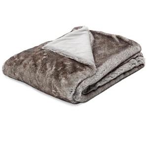Kuscheldecke Maroon Woven Fur
