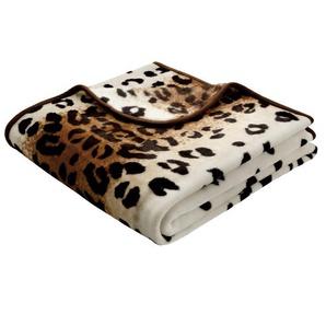 Kuscheldecke Simply Luxury Leopard