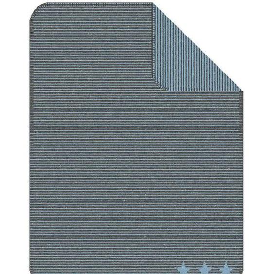 Kuscheldecke Sternentraum, blau (860), 75x100 cm
