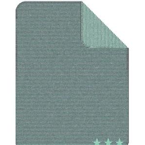 Kuscheldecke Sternentraum, grün, 75x100 cm