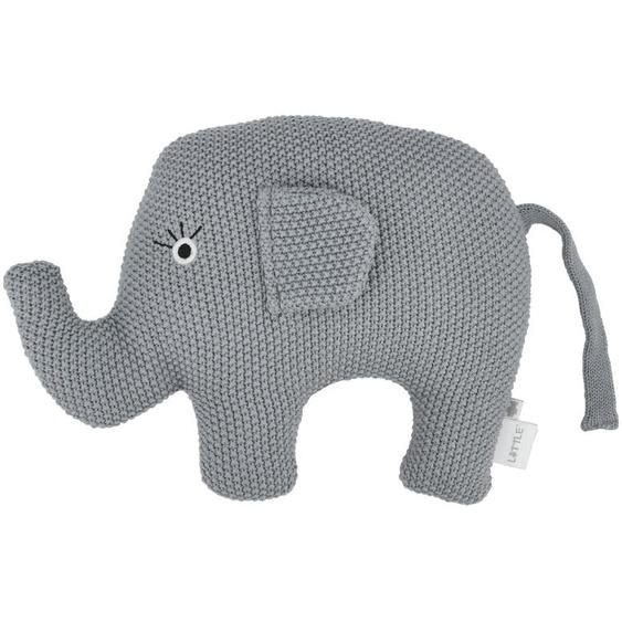 Kuscheltier  Little Elefant ¦ blau ¦ Füllung aus 100% Polyester, Bezug aus 100% Baumwolle (gehäkelt)