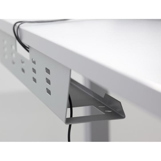 KW 8 S | Kabelwanne horizontal - Silber 80 cm