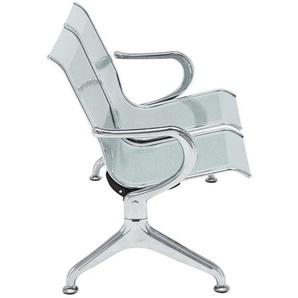 Kynge Office Chair - Modern - Silver - Metal - 124 cm x 63 cm x 80 cm