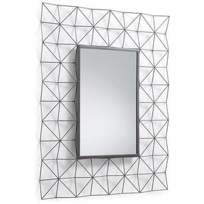 La Forma Habita Spiegel 79x100cm Dunkelgrau