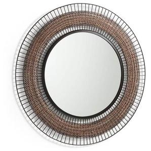 La Forma Robil Runder Spiegel 90x2x90cm Kupfer Copper