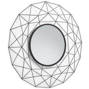La Forma Habita Spiegel Ø90cm Schwarz