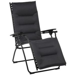 Lafuma Evolution Relaxliege  Stahl/Air Comfort® Schwarz/Acier