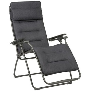 Lafuma Futura Relaxliege XL Stahl/Be Comfort® Basalte/DarkGrey