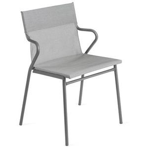 Lafuma Horizon Stapelsessel Stahl/Batyline®Duo Titane/Pearl Grey