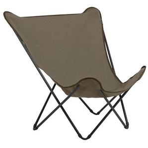 Lafuma Pop Up XL Design-Sessel Stahl/Airlon® Schwarz/Grés
