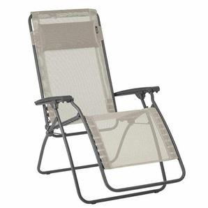 Lafuma R Clip Relaxliege Stahl/Batyline® Basalte/Seigle