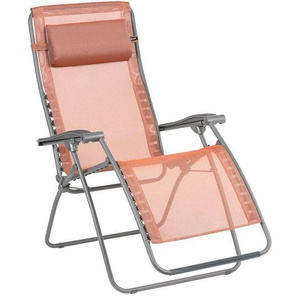 Lafuma RSXA Clip Relaxliege Stahl/Batyline® Titan/Terracotta