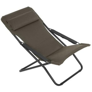 Lafuma Transabed Air Comfort Stahl/Batyline® Schwarz/Taupe