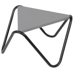 Lafuma Vogue Beistelltisch 57x33cm Stahl Schwarz/Stone