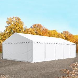 Lagerzelt 5x10 m, PVC weiß