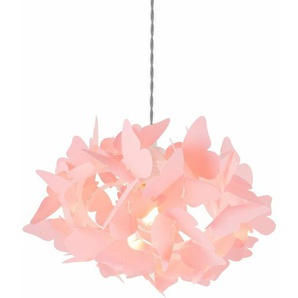 Lampe Yon Kunststoff Pink - Pink - Sklum