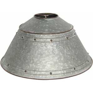Lampenschirm 6lak0449 Grau Ø 45x26 Cm