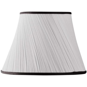 Lampenschirm aus Chiffon, Durchmesser 25 x 15 x 18 cm, Schwarz
