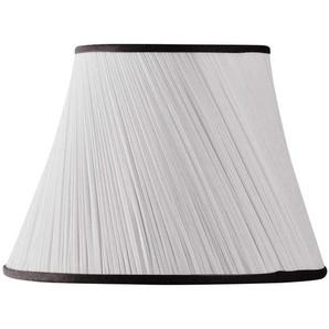 Lampenschirm aus Chiffon, Durchmesser 40 x 22 x 28 cm (Handgefaltet) Schwarz