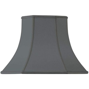 Lampenschirm in Form eines Pagode, 45 x 22 x 31 cm, Schwarz
