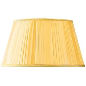 Lampenschirm Plissee Form halber Empire Ø 45 x 32 x 26 (Handgefaltet) goldfarben