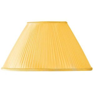 Lampenschirm Plissee Form Regenbogen Ø 45 x 15 x 27 (Handgefaltet) goldfarben