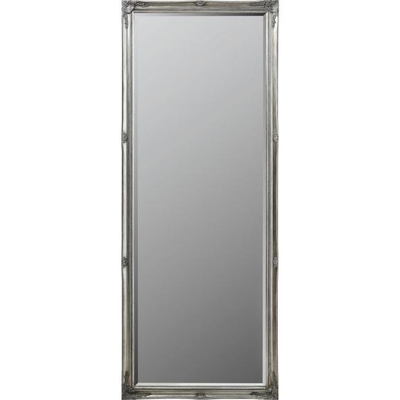 Landscape Wandspiegel Tanne Grau , Holz, Glas , massiv , 50x150x3.3 cm