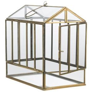 Laterne Auria aus Glas und Eisen