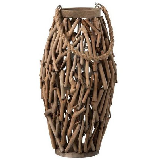 Laterne aus Holz