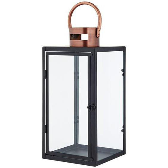 Laterne mit Henkel | kupfer | Metall, Glas |